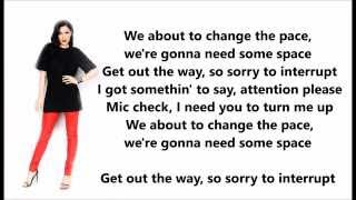 Jessie J, Jhené Aiko, Rixton - Sorry To Interrupt - Lyrics
