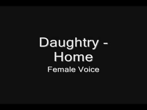 Daughtry - Home (female Voice) video
