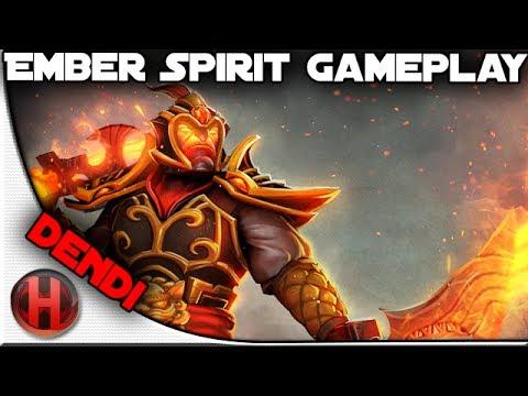 Na'Vi.Dendi Ember Spirit Game RMM