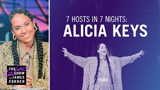 7 Hosts In 7 Nights: Alicia Keys