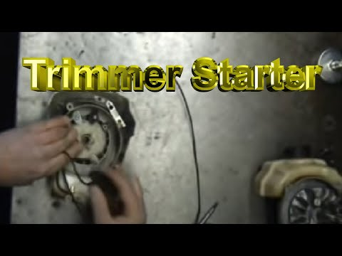 String Trimmer Starter Repair