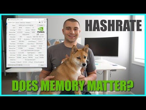 Does GPU Memory Effect GPU Mining Hashrate? Samsung vs Hynix Hashrate Test!