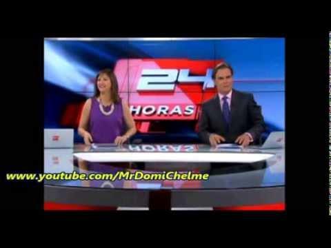Chascarro: Así se prepara 24 horas central antes de salir al aire