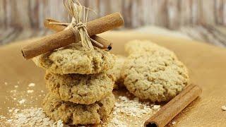 Knusprige Hafer-Zimt-Kekse (einfach, schnell & gelingsicher)