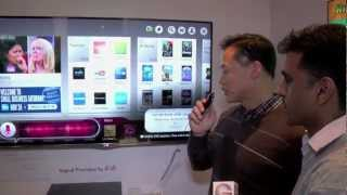 CES 2013_ LG SMART TVs