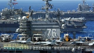 High Alert: For The First Time In 13 Years, U.S. Deploys 7 Aircraft Carriers Simultaneously
