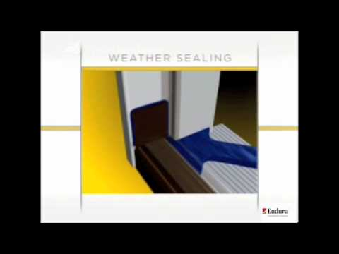 Endura products weather seal video youtube for Exterior door corner seal pads