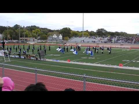 Wisconsin Lutheran High School Marching Band  -  Into The Clouds - 10/06/2014