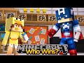 MINECRAFT- BABY DUCK BEATS CAPTAIN AMERICA w/ THE MINEVENGERS