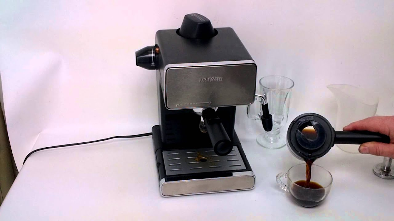 Mr Coffee Steam Espresso & Cappuccino Maker / Which do you like Better??? - YouTube