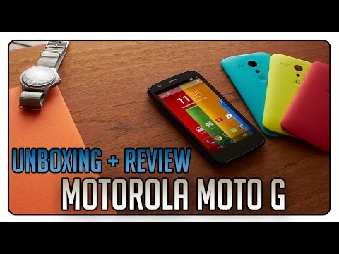 Unboxing + Review: Motorola MOTO G   Android Gama Media-Alta de Low Cost