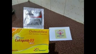 [Hindi] Vitamin D Benefits - Calcirol Granules | Calciquick Capsules in Hindi-PanTan