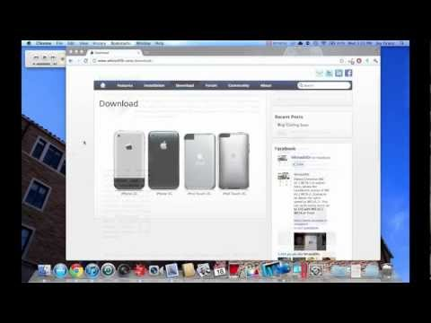How to Install iOS 5 on iPhone 2G. 3G. iPod Touch 1g and 2g w/ Whited00r