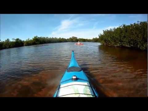 Kayaking a Hidden Bay Behind Pine Island North of Matlacha HD