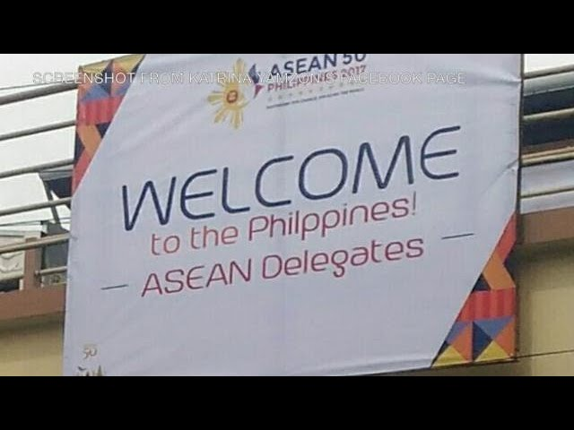 Erroneous tarp was not approved by Asean organizing committee
