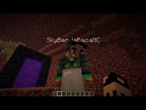 Minecraft Multiplayer LP E04 Nether Railway