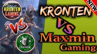kronten vs maxmin gaming | so intense fight |