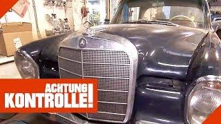 Mercedes 220 SE Oldtimer auf dem Prüfstand: In welchem Zustand ist er? | Achtung Kontrolle