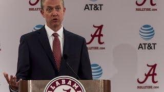 Alabama AD Greg Byrne: Greg Goff is no longer Alabama