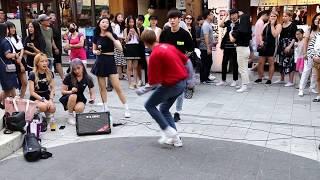JHKTV] 홍대댄스비팝프랜즈 hong dae k pop dance 비팝프랜즈 으르렁 (Growl) - EXO