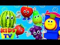 Fruits Song Learning Street With Bob The Train Nursery Rhymes Song For Toddlers By Kids Tv mp3