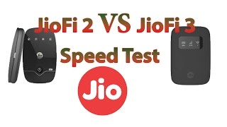 JioFi 2 Vs JioFi 3 Speed Test Compare in Live Demo