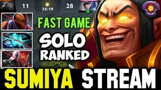 Fast Game Ez MMR in Solo Ranked | Sumiya Invoker Stream Moment #223