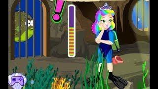 Princess Juliet Underwater Escape, Princess Juliet Games, Harder level
