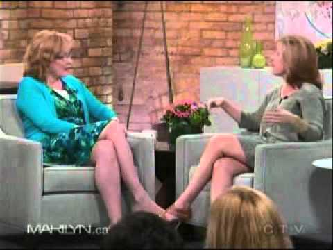 Laurie Gelman on The Marilyn Denis Show Part 1.
