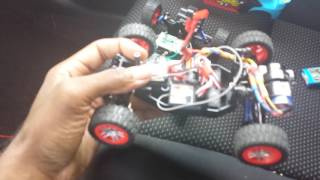 Fast lane pro-buggy R/C complete brushless conversion