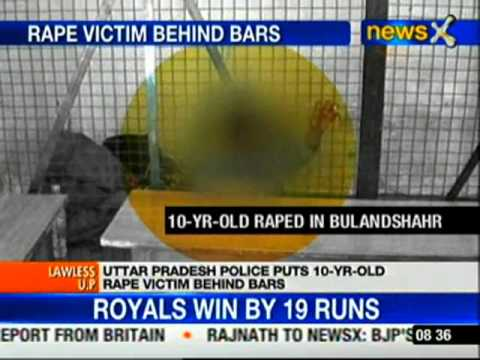 UP: 10-year-old rape victim behind bars