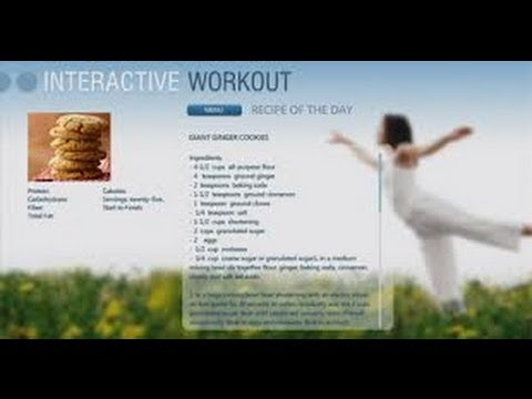 Tutorial: AT&T Uverse Interactive Workout App | Exercise and Fitness