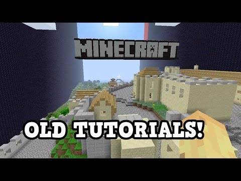 Minecraft Xbox 360 / PS3 - Old Tutorial Worlds