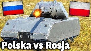 POLSKA vs ROSJA - World of Tanks