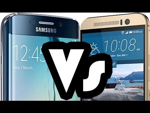 Samsung Galaxy S6 / S6 Edge Vs HTC One M9