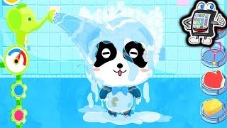 BADEZEIT VON BABY-PANDA App - Baby Pandas Bathtime - PANDA BADET! Spiel mit mir Apps und Games