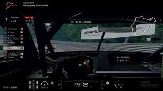 GT SPORT Nissan MOTUL AUTECH GT-R @ Nurburgring Nordschleife - cockpit cam