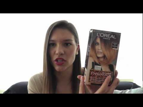 Tutorial - review l'oreal preferences wild Ombre Hair