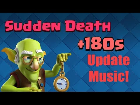 Clash Royale: *NEW* November Over Time (Sudden Death) Music!!
