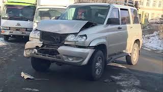 Неисправность тормозов стала причиной столкновения четырех авто в ДТП на Фадеева