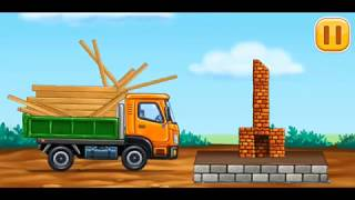 #4 Truck games for kids - build a house 🏡 car wash  Baby games  puzzel   Truck  games for KIDS