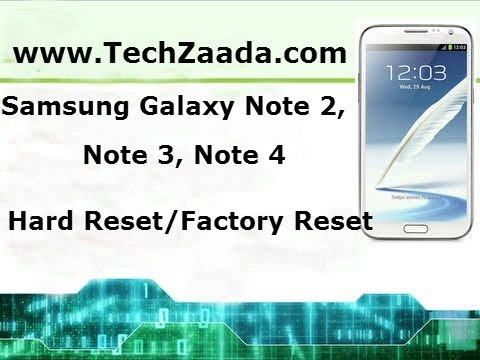 How To Unlock Samsung Galaxy Note 2 Pattern Or Password