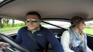 Austin Healey Classic Car Road Trip