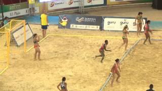 TWG - Beach handball 2013 - Colombia vs Australia - women (first half)