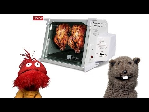 Glove and Boots Product Testing: Ronco Rotisserie Oven