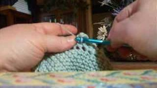 Small Scallop Crochet Border