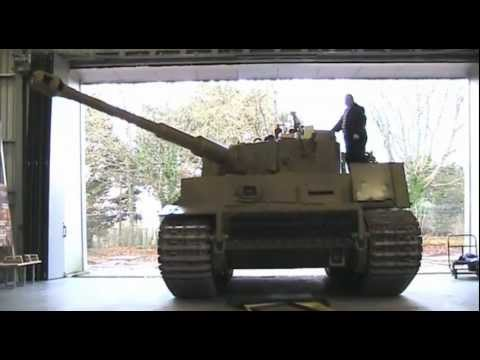 Tiger Tank Restoration Update - December 2011  (High Quality)