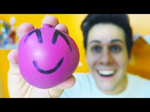 COME FARE LE PALLINE ANTI-STRESS! (Creazioni Incredibili) #3