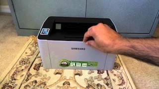 Unpacking Samsung Express M2020W Printer