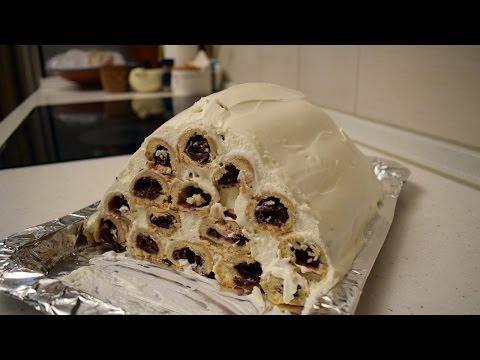 """Торт """"Монастырская изба"""" / Быстрый и очень вкусный рецепт торта"""